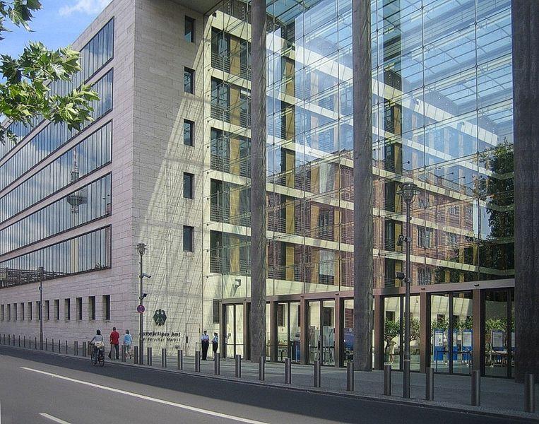 Auswärtiges Amt Berlin, Eingang vom Werderschen Markt. CC 2.0