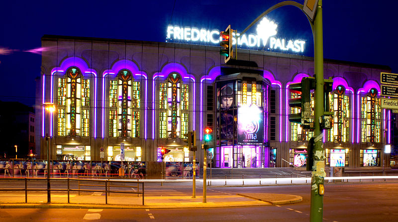 Der Friedrichstadt-Palast heute. CC 2.0