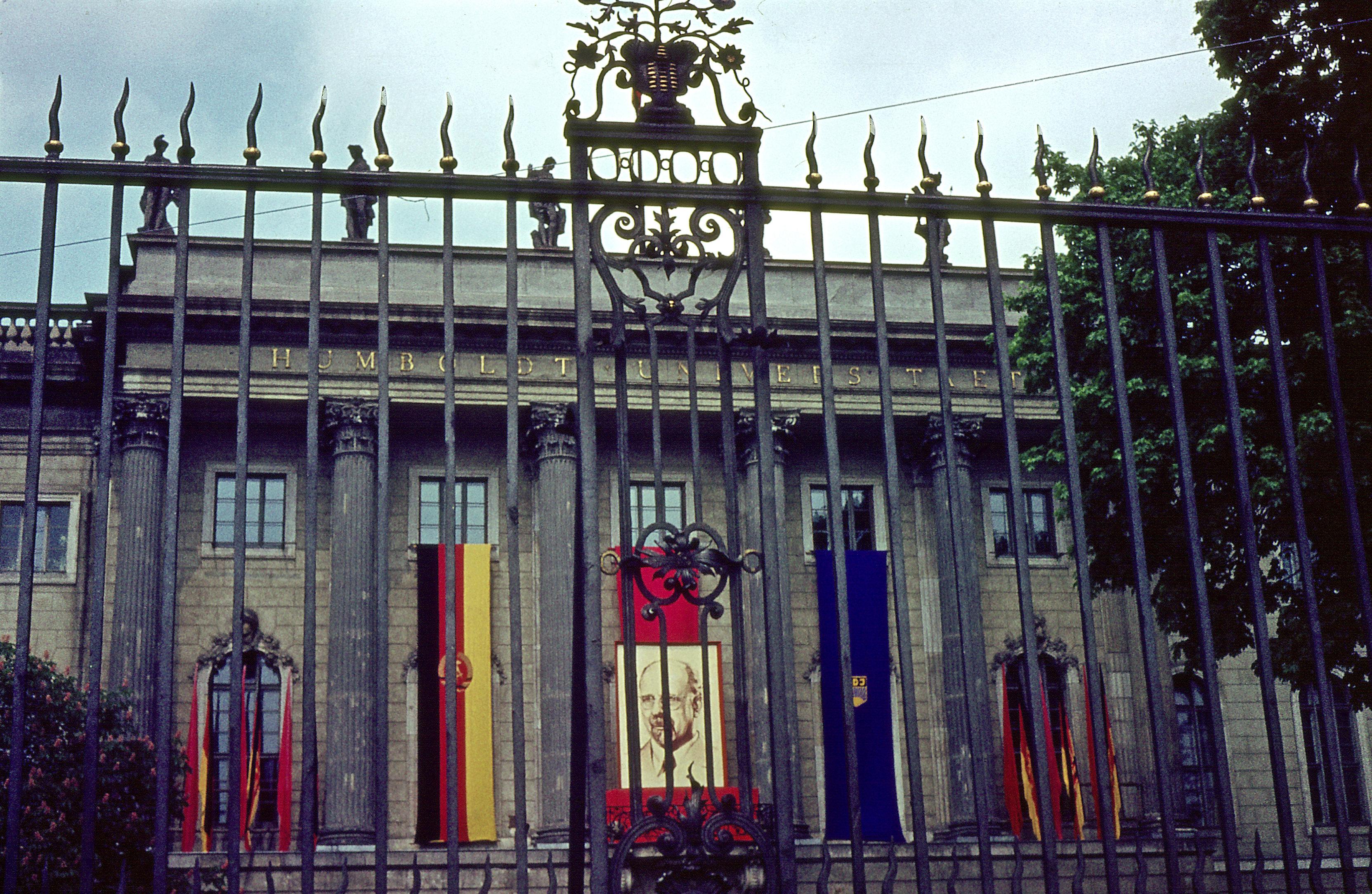 Die Humboldt-Universität 1964 zu DDR-Zeiten. CC 3.0