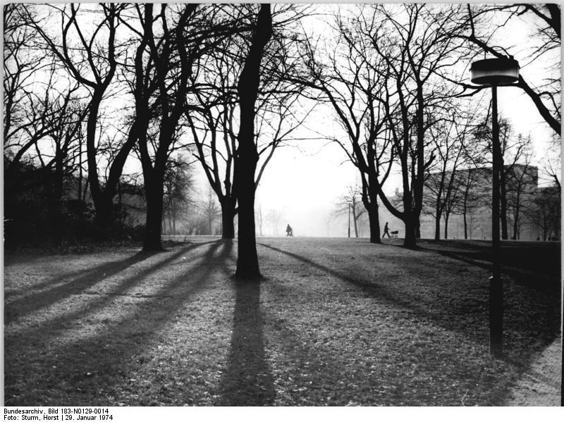 Volkspark Friedrichshain 1974. Foto: Bundesarchiv, Bild 183-N0129-0014 / Sturm, Horst / CC-BY-SA 3.0
